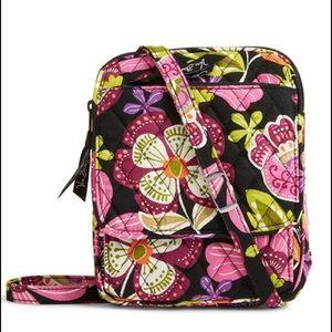 Vera Bradley Handbags - NWT Vera Bradley Mini Hipster in pirouette pink