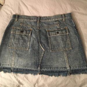 Express Denim Skirt