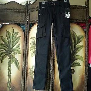 Denim - Cargo skinny jeans nwt
