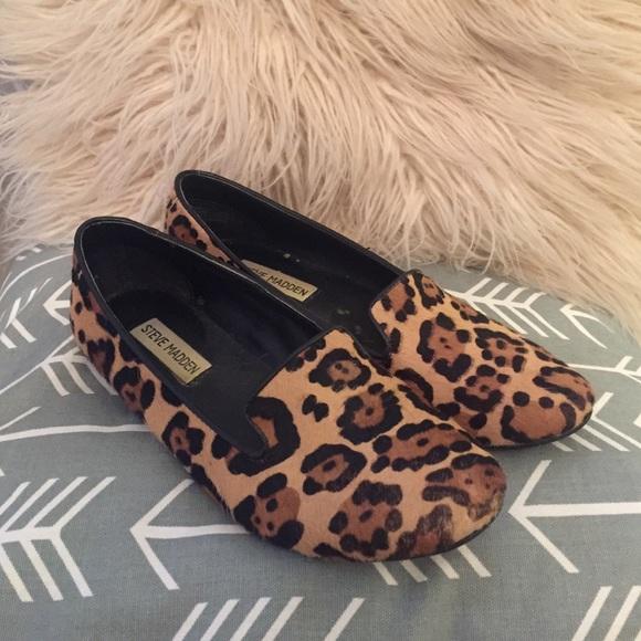353ef162bc8b Steve Madden Leopard Loafers. M 57b08d4c2ba50aa04f056b73