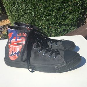 Converse Shoes - Converse Andy Warhol Black Hi High Top Sneakers