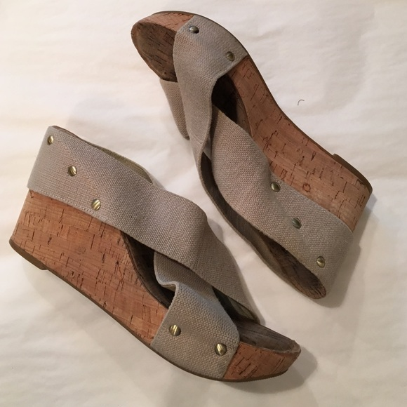 9df4ac22f4a9 Lucky Brand Shoes - Lucky Brand Cork Wedge