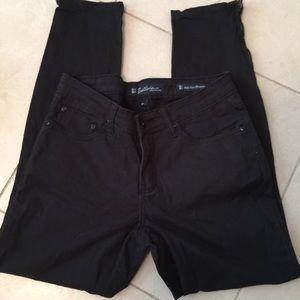 Salt Work Pencil leg black jeans