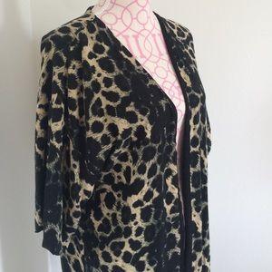 ASOS Jackets & Blazers - Vera Moda Leopard Print Kimono