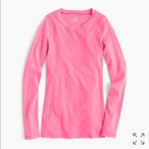 J. Crew Perfect Fit Long Sleeve T-Shirt