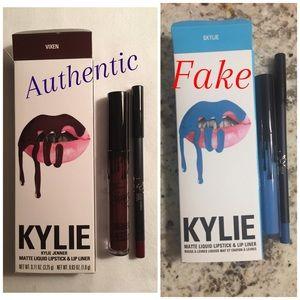 💄Kylie Fake vs. Real💄
