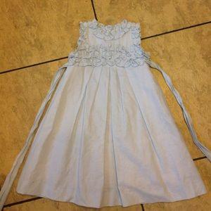 Luli & Me Other - Girls Luli & Me linen dress