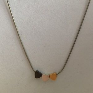 Jewelry - Mixed metal heart necklace