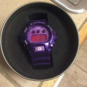 G-Shock Accessories - Men's purple G-Shock watch