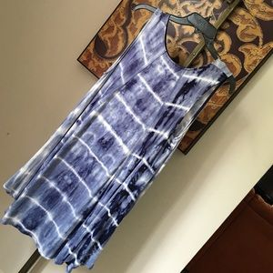 Charlotte Russe Dresses & Skirts - MOVING SALE!!!•Tyedye tank dress•