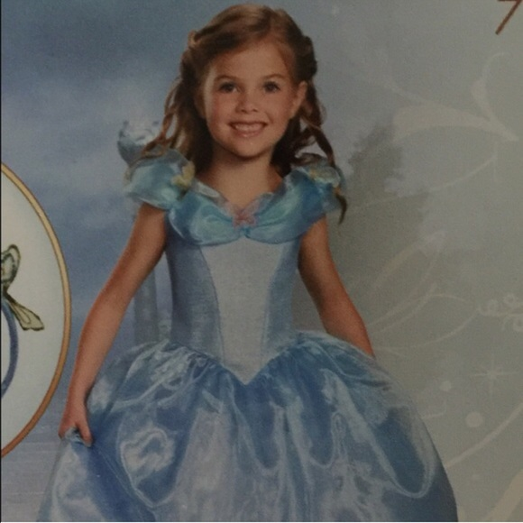 🇺🇸Disney Cinderella Deluxe Costume girls