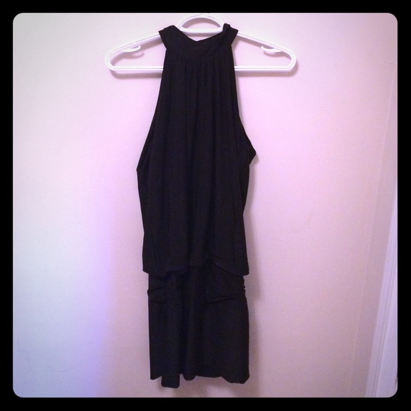 Fredericks Of Hollywood Dresses Black Round Neck Sleeveless Dress