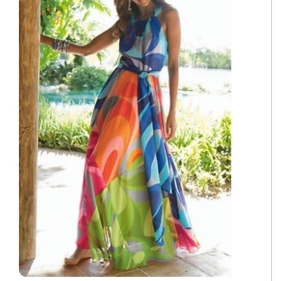 d56b82cd7729 Soft Surroundings Dresses | Soft Surrounding Carnivale Dress | Poshmark