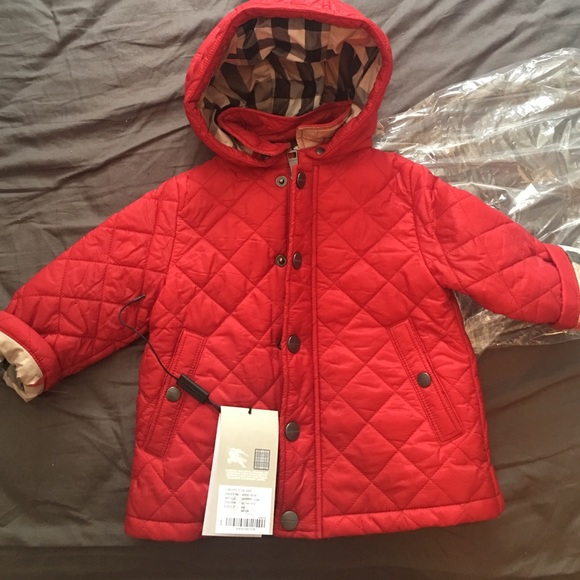 ffd28d4021ef Burberry Infants Jerry Quilted Jacket