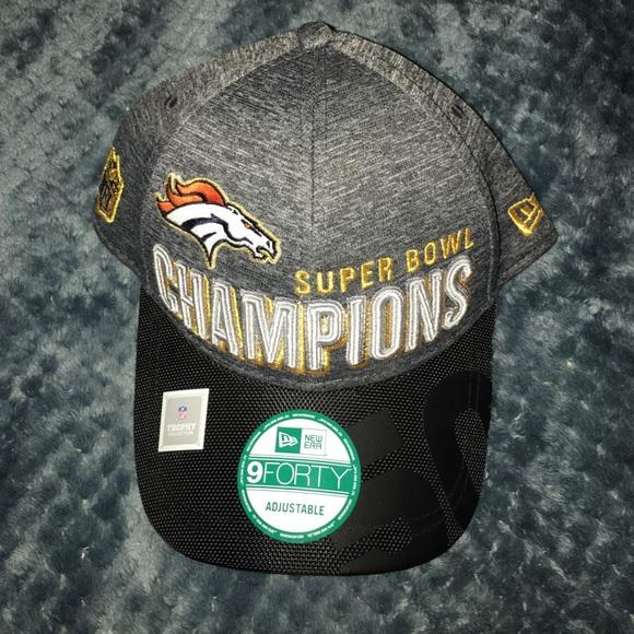 cd72cab5 2016 SuperBowl 50 Broncos Champions Cap NWT