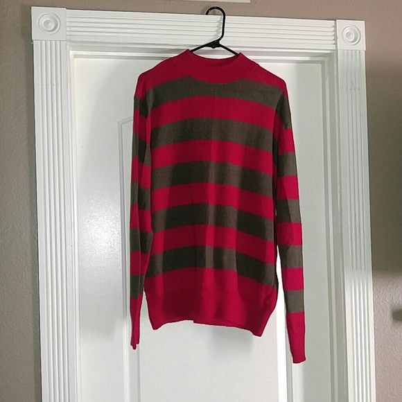 Hot Topic Sweaters Freddy Krueger Sweater Poshmark