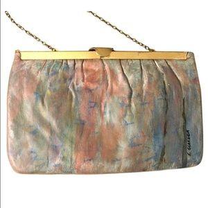 Vintage hand-painted bag