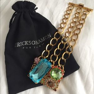 Erickson Beamon Jewelry - Erickson Blanon fashion big gem bracelet