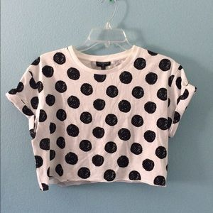Topshop Tops - Topshop crop top