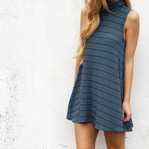 Dresses & Skirts - | new | striped turtle neck dress