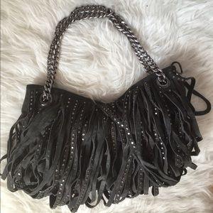 83 Off Emme Trenta Handbags Emme Trenta Studded Light