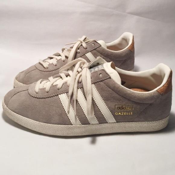 adidas gazelle grey gold