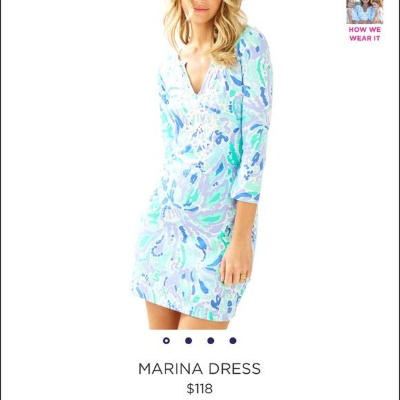e27ad599414075 Lilly Pulitzer Dresses | Nwt Marina Dress | Poshmark
