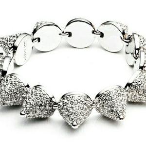 Beautiful Eddie Borgo pave cone bracelet BIG