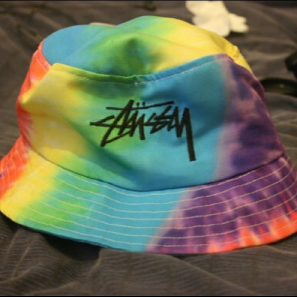 102a5d95 Stussy Accessories | Rare Tie Dye Bucket Hat Retro 90s | Poshmark