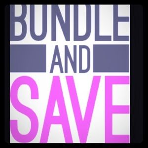 Other - BUNDLE AND SAVE 20% off 3 items. THIS WEEKEND ONLY