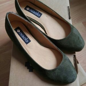 Nisolo Shoes - Nisolo Olive Mendez Flat