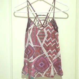 Xhilaration Tops - Tribal Strappy top