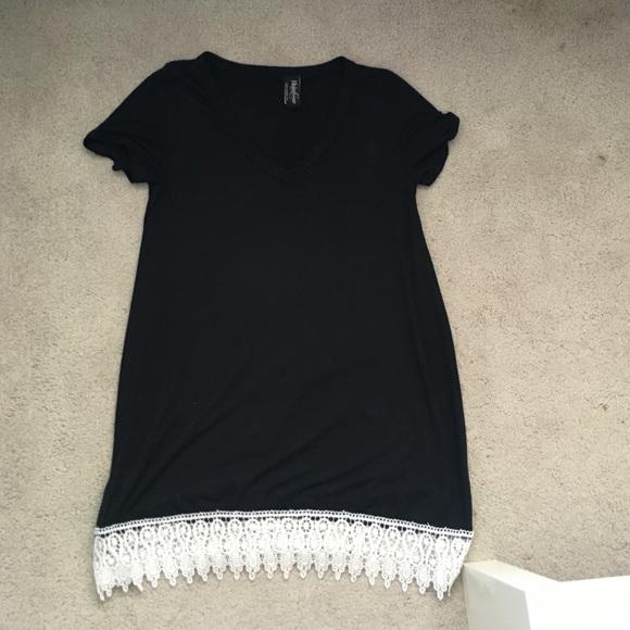 60% off Costco Dresses & Skirts - Black T Shirt Dress from Nikki's ...