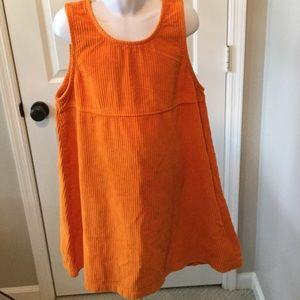 Flap Happy Other - Orange corduroy jumper.