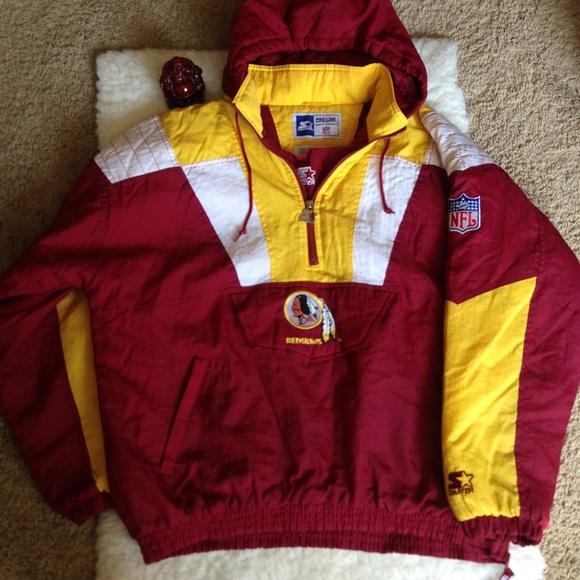 quality design f68d1 f0fa4 Vintage Redskins Starter Proline Pullover Jacket