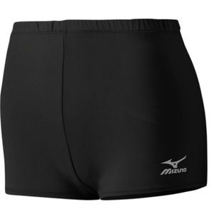 Mizuno Pants - [Mizuno] Black Athletic Volleyball Spandex Shorts!