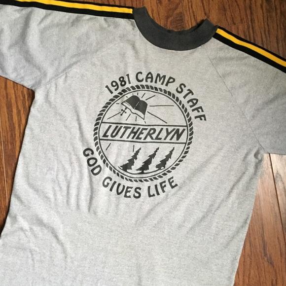3d78a902051b 1981 Summer Camp Counselor Shirt Vintage. M 57b0dc7f981829ed9706076c