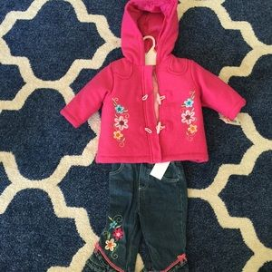 Nannette Other - NEW 🌺pink hoodie coat🌷jeans🌸top💐zipper front🌼