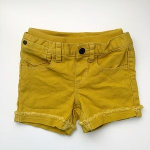 Baby Gap Yellow Shorts