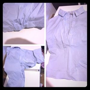 1. State blue career shirt