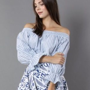 Chicwish Tops - Chicwish off the shoulder top