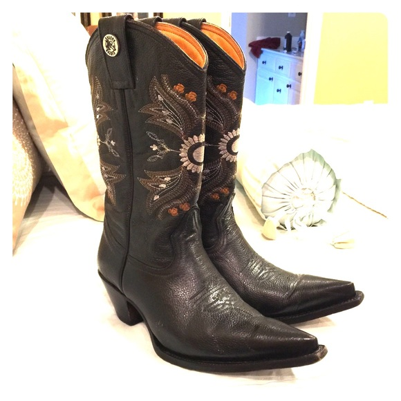 80% off Rogers Boots Shoes - Authentic Mexican Cowgirl Boots (Real ...