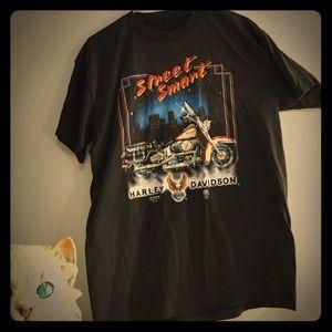Vintage 80s Harley Davidson 3D Emblem shirt