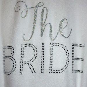 Betsey Johnson Other - Betsy Johnson THE BRIDE Robe Bridal Wedding