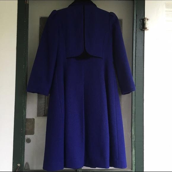 Rothschild - Vintage *Girls* Rothschild Purple Wool Dress Coat ...