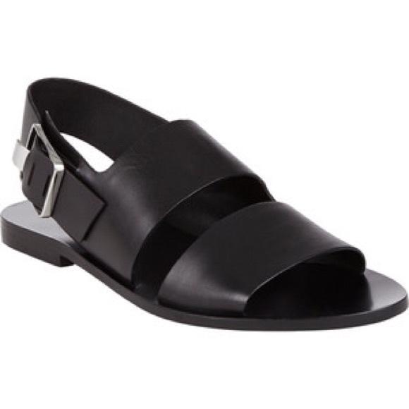 d2b7234a742d Alexander Wang Shoes - Alexander Wang - Black flat sandals