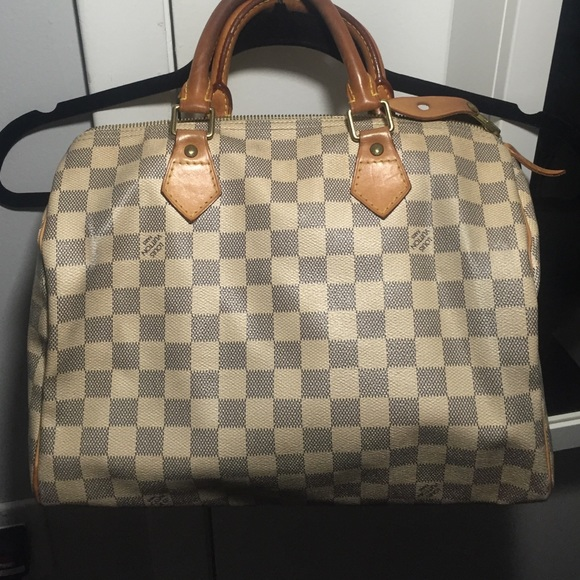 10961912 Louis Vuitton USED Speedy 30 Damier