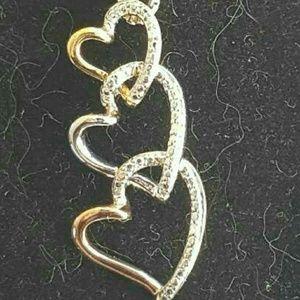 Kay Jewelers Jewelry - 💞SPRING  SALE  🌻THREE HEARTS 💗
