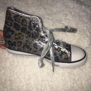 Gotta Flurt Other - SPARKLY cheetah shoes