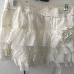 Zara kids never worn ruffle skirt